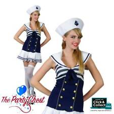 LADIES SASSY SAILOR GIRL COSTUME Sexy Navy Sailor Dress Fancy Dress Outfit 0053