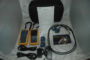 Fluke DTX-1800 Netzwerktester Cat 7 900MHZ Cable Analyzer ANGEBOT kalibriert