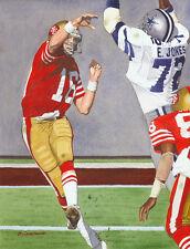 Joe Montana San Francisco 49Ers Art Print