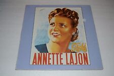 Annette Lajon~Self Titled LP~1982 EMI Pathe Marconi~IMPORT~FAST SHIPPING