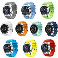 For Samsung Galaxy Watch Strap 46mm Band Silicone Gear S3 Frontier Classic