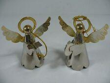 Ángel de la Navidad Metal / Decoración / / 2er Set /8cm /67,2g