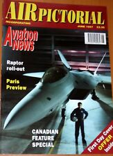 Air Pictorial 1997 June - ST27 - CF101 Voodoo - EH101 Merlin