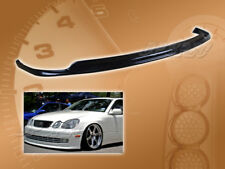 FOR 98-05 LEXUS GS 300 400 TTE STYLE VIP FRONT BUMPER LIP BODY SPOILER KIT PU