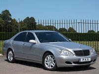 2005/05 Mercedes-Benz S320 CDI Auto Diesel 4 Door Saloon *FULL SERVICE HISTORY*