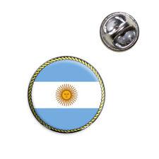 Flag of Argentina Lapel Hat Tie Pin Tack