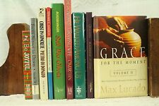 lot 9 old Christian books Christ in Concrete Bible study devotions prayer Joy