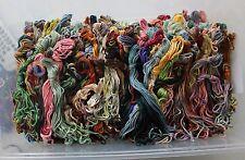 Thread Gatherer Overdyed Silk Threads - Odds & Ends 50 yard Assortment