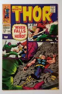Thor #149 VF+ 8.5 (1968) Kirby/Lee - Origin of Medusa (Medusa Boltagon)!