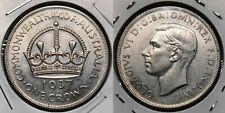 1937 Australia sterling silver Crown