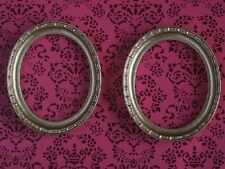 Pair of Gold Frames, Dolls House Miniatures Picture Framing