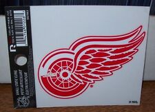 DETROIT RED WINGS LOGO 3X4 SMALL STATIC DECAL RICO STICKER DECAL