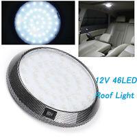 12V  LED  Roof Ceiling Interior Lights Camper Van Boat Caravan Doom Light White