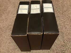 SEARS ROTARY TRAY 100 Slide Reel, Carousel 9986 GAF Sawyers Wards LOT OF 3 Black
