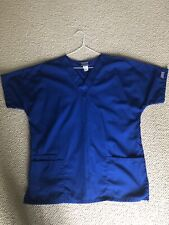 Medical scrubs 4 pieces / Royal Blue Cherokee Set & Navy Top/ White Pant