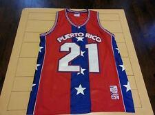 PUERTO RICO MEGA USA SEWN  #21 Basketball Jersey Size 2XL