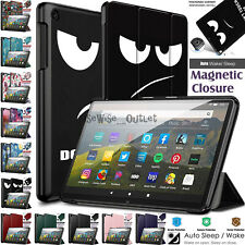 Case For Amazon Kindle Fire HD 8 /HD 8 Plus 2020 Leather Smart Stand Flip Cover