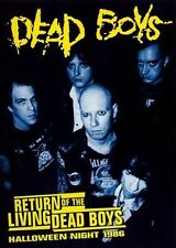 Return of the Living Dead Boys: Halloween Night 1986 [DVD] * by Dead Boys (DVD, Mar-2008, Audiovisual)