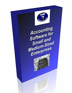 Accounting Software for home or small business. 3 programs on one CD. English