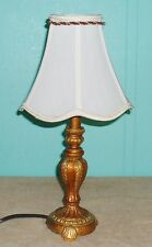 Lamp Table Cloth shade ceramic textured finish gold brass colors white