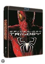 Blu Steel 4 U Spider-man Trilogy Dutch Release 3 Film Ltd Ed Steelbook