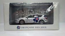 Norev : Peugeot 407 sw Française des Jeux - Tour de France 2008