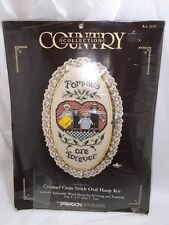 Families Are Forever Counted Cross Stitch Kit Amish Mennonite Country Collection