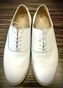 Sanders White Leather shoes 9