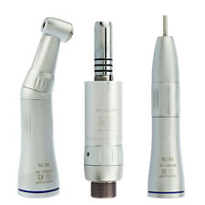 Dental Inner Water Spray Low Speed Handpiece Contra Angle Air Motor fit NSK KaVo