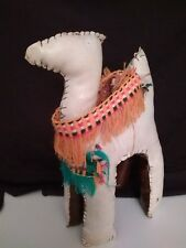 Leather Camel Figure Handmade Desert Animal