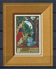 32453) HUNGARY 1967 MNH** Painting S/S Scott# 1870