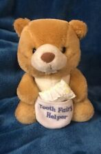 VINTAGE RUSS BERRIE TOOTH FAIRY HELPER SOFT STUFFED PLUSH BEAVER 7''