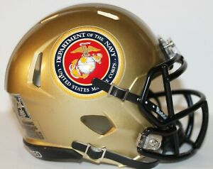 2016 UCF Central Florida Knights Marine Corps Custom Riddell Mini Helmet