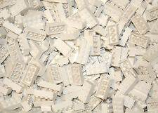 200 Pieces White 2x4 bricks Building blocks, Compatible to All Brands