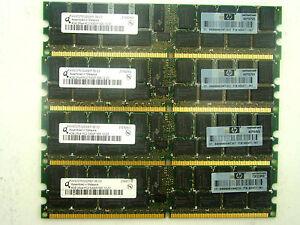 Qimonda HYS72T512220EP-3S-C2 DDR2 5300 667 MHZ RAM ECC 4x 4GB 16GB #KZ-364 Tray7