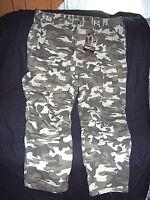 d4b56a7573695 Mens 3X Tall Camo Pants Military Bdu Pants Style Camo Hunting Pants Cargo  Pants