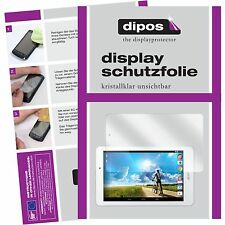 2x Acer Iconia Tab 8 A1-840FHD Schutzfolie klar Displayschutzfolie Folie dipos