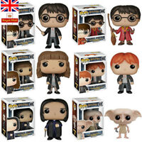Harry Potter Funko POP Model Action Figure Collection Movies Hermione Dobby Toy