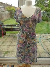 PER UNA @ M & S sz 18 20 Beautiful lined knee length summer dress hardly worn