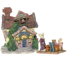 Boyds Bearly School Built Villages 2000 Boyds Town Style# 19004
