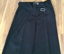 New * Next * (size 10 Long) Black Wide Leg Belted Trousers.