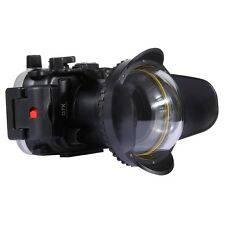 67 mm Optical Fisheye Lens Shade Wide Angle Dome Port Lens Underwater Housings