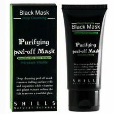 """""""SHILLS"""" Purifying Blackhead Remover Peel-Off Black Charcoal Face Mask NEW 50ml"""
