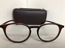 New Ermenegildo Zegna EZ 5028-F 055 Havana Asian Fitting Round 53mm Eyeglasses