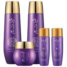 Hwanghoobin Red Ginseng 3pcs Skin Care Toner Emulsion Cream Gift Set K-Beauty