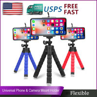 Universal Mobile phone Octopus Stand Tripod Mount Holder for Samsung iPhone US