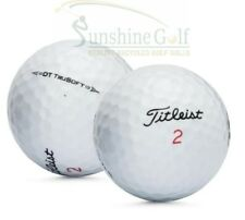 24 Near Mint Titleist DT TruSoft AAAA Used Golf Balls - FREE SHIPPING