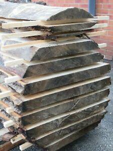 waney edge slabs beech