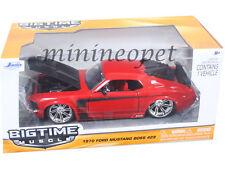 JADA BIGTIME 90348 1970 70 FORD MUSTANG BOSS 429 1/24 DIECAST MODEL CAR RED