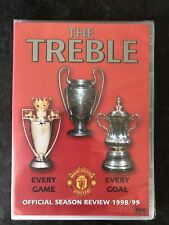 Manchester United DVD Season Review 1998/1999 The Treble 98/99 Man Utd MUFC